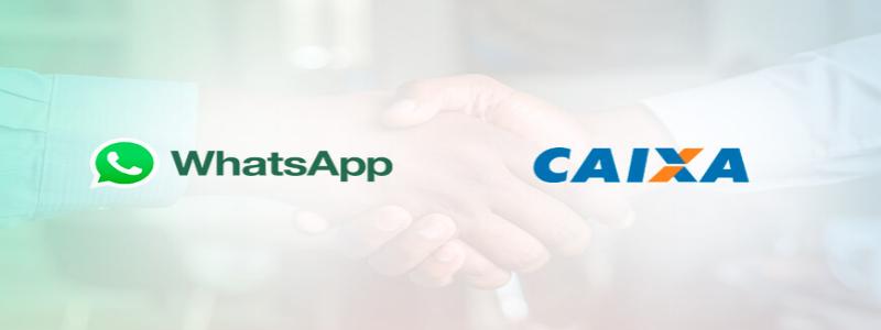 Caixa e Whatsapp fecham parceria para envio de mensagens sobre auxílio 16/07/2021