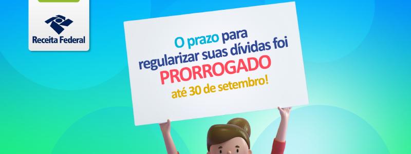 MEI – 30 DE SETEMBRO: Receita Federal prorroga o prazo de regularização do MEI